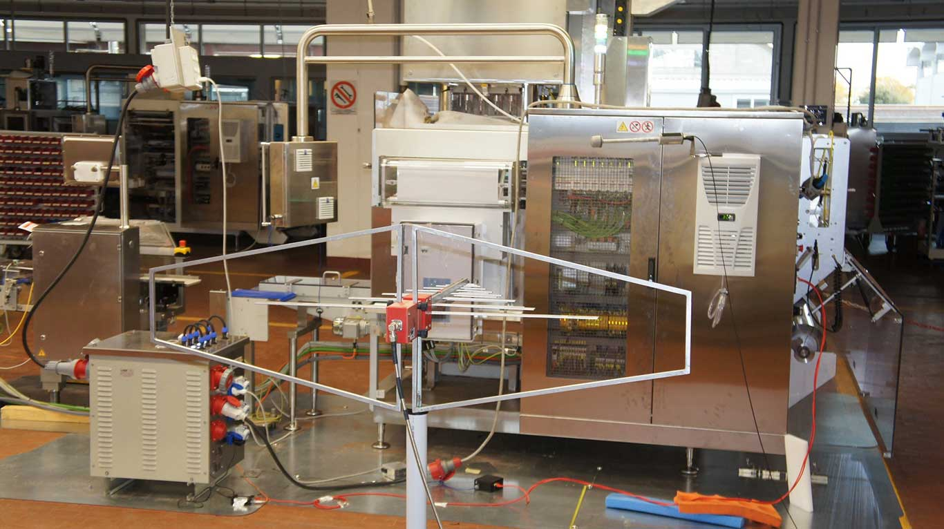 Prove EMC in sito - Test EMC in situ - CE presso il cliente