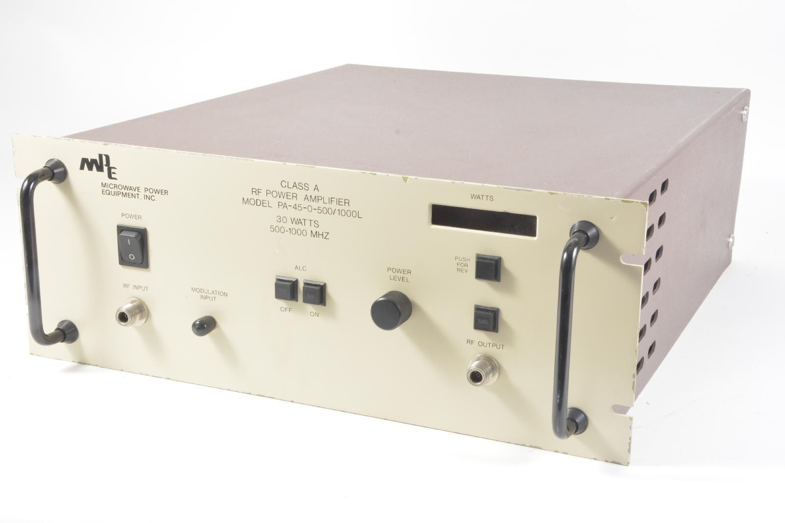 power-amplifier-mpe-class-a-rf-pa-45-0-500-1000l-30-watts-500-1000-mhz-used-equipment-0.jpg