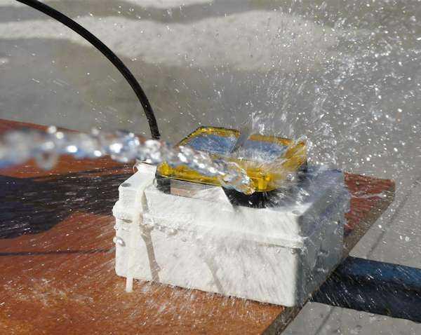 Prova IP65 Verifica Grado IP - Test Acqua e Polvere