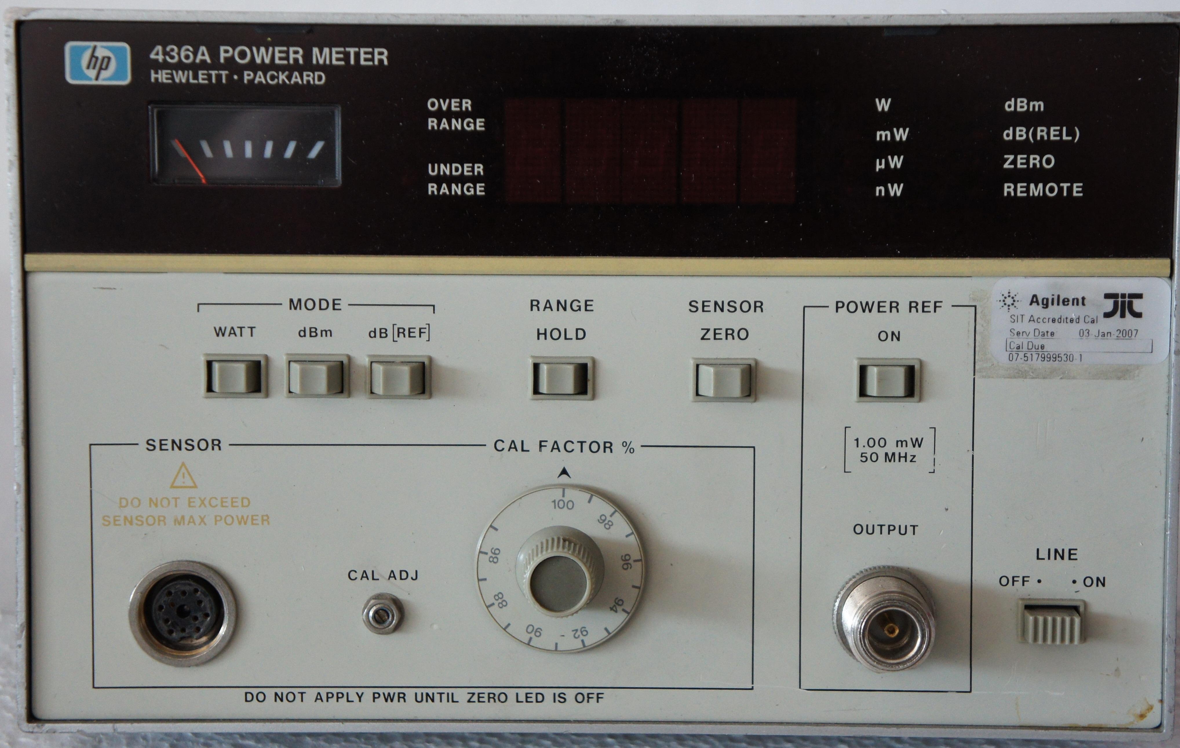hp 437b power meter service manual