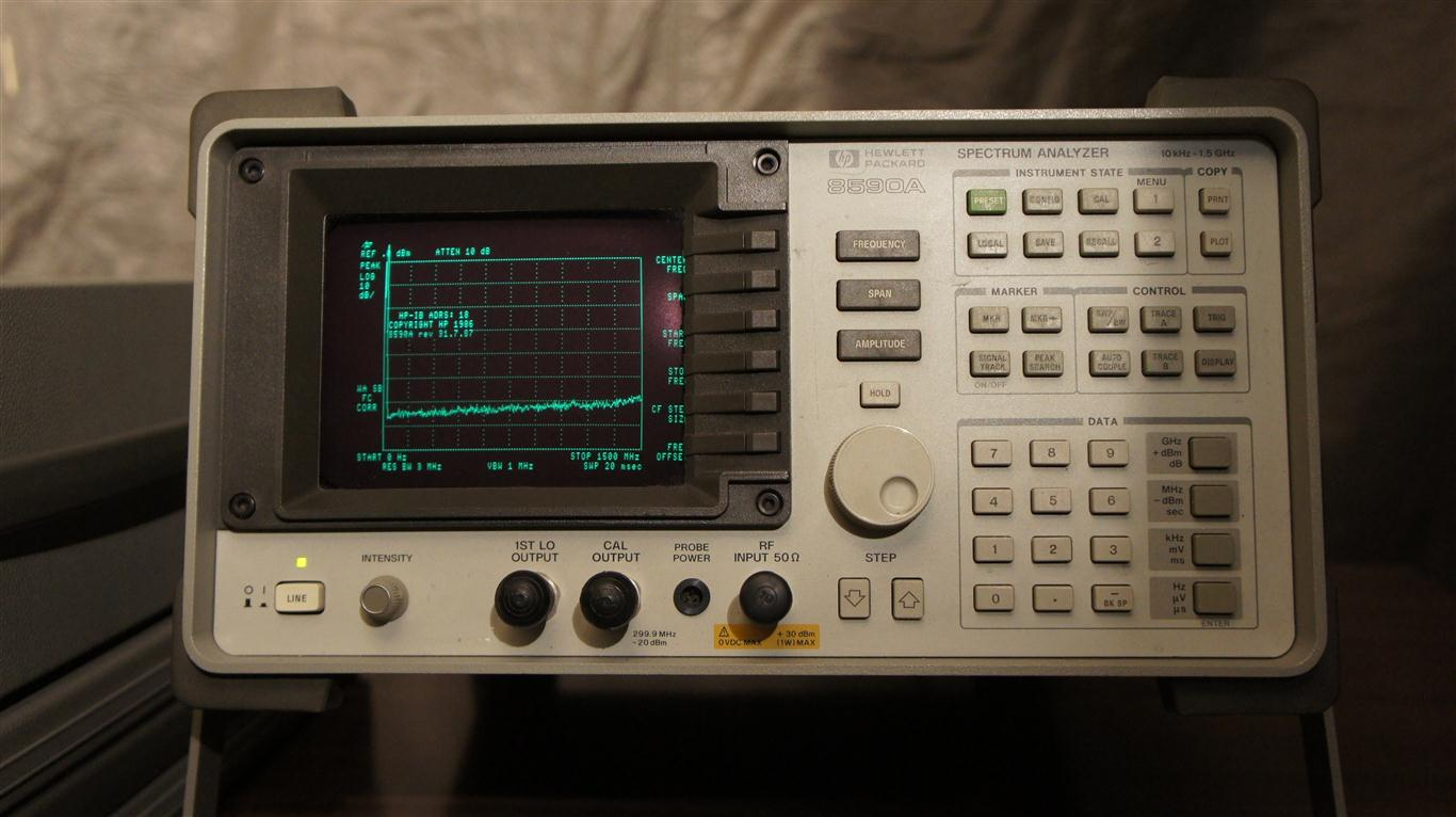 hp agilent 8590a portable spectrum analyzer service manual pdf
